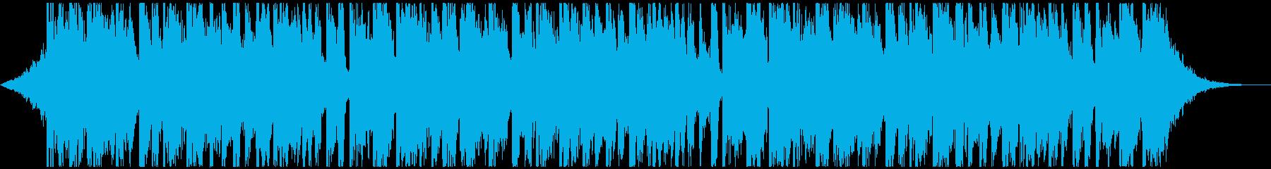 【ボーカルなし】レッツダンス!ファンクの再生済みの波形