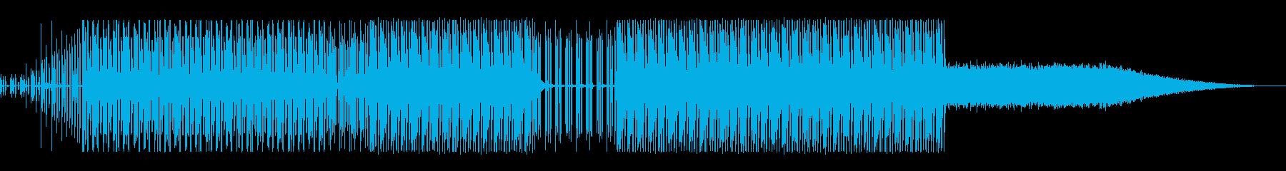 物流の流れをイメージして制作しましたの再生済みの波形