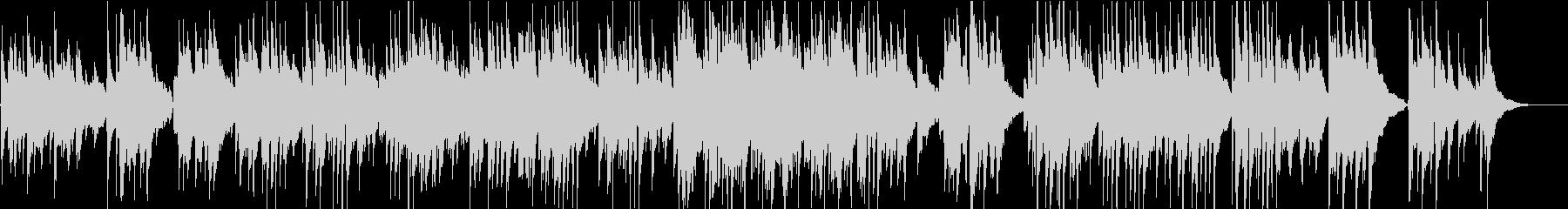 シンプルなアコギのみのスカボローフェア の未再生の波形