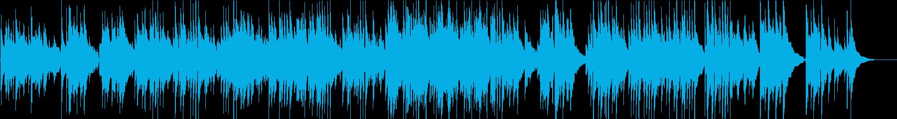 シンプルなアコギのみのスカボローフェア の再生済みの波形