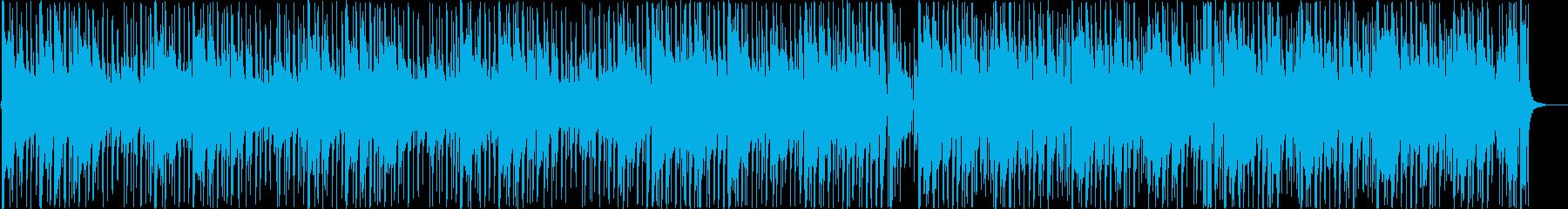 夜や日常をイメージしたアコギBGMの再生済みの波形