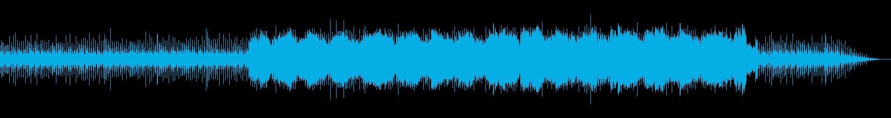今までのデータを考察してる時のような曲の再生済みの波形
