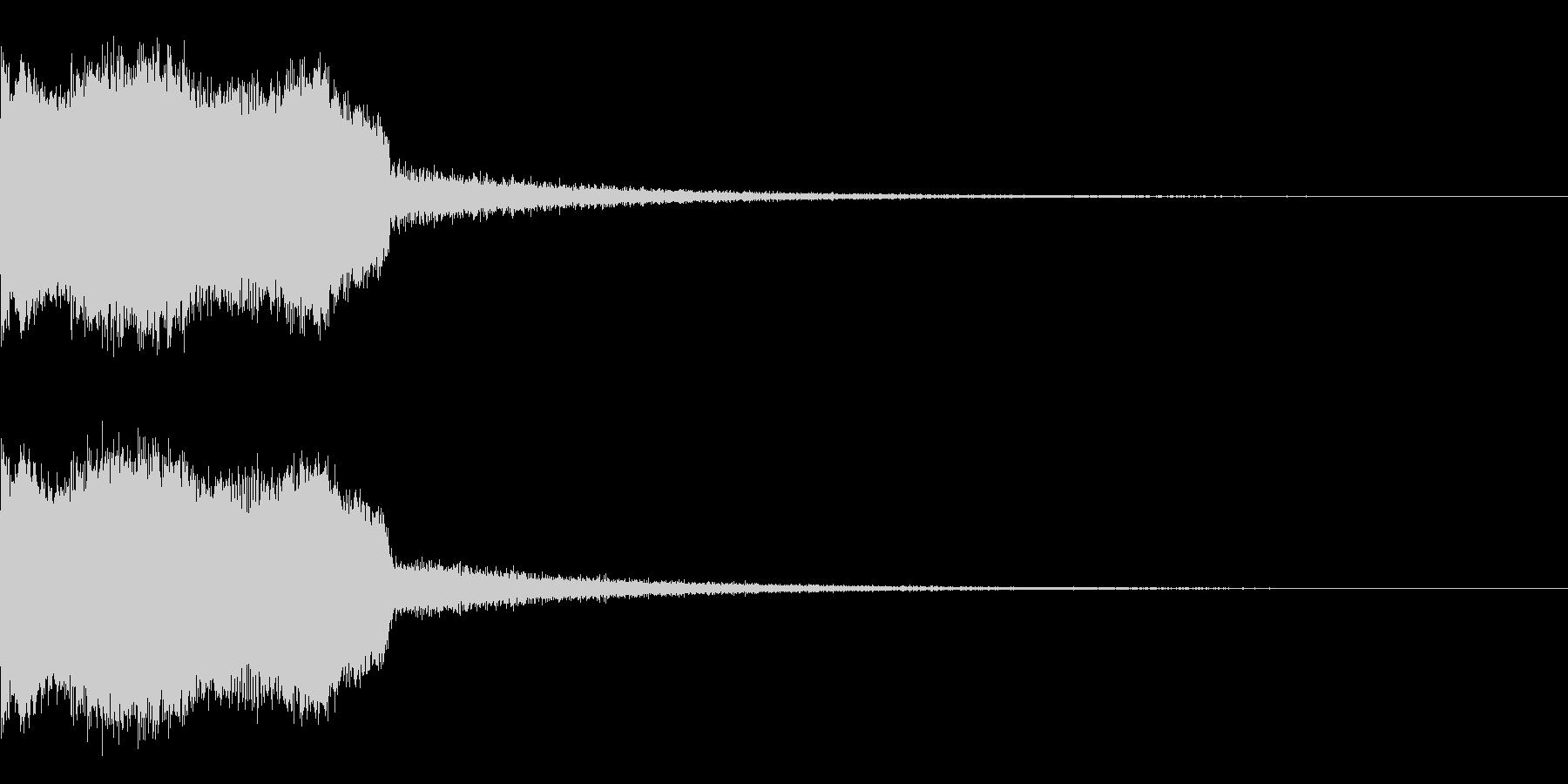 DJFX ヒットチャート発表前SE 25の未再生の波形