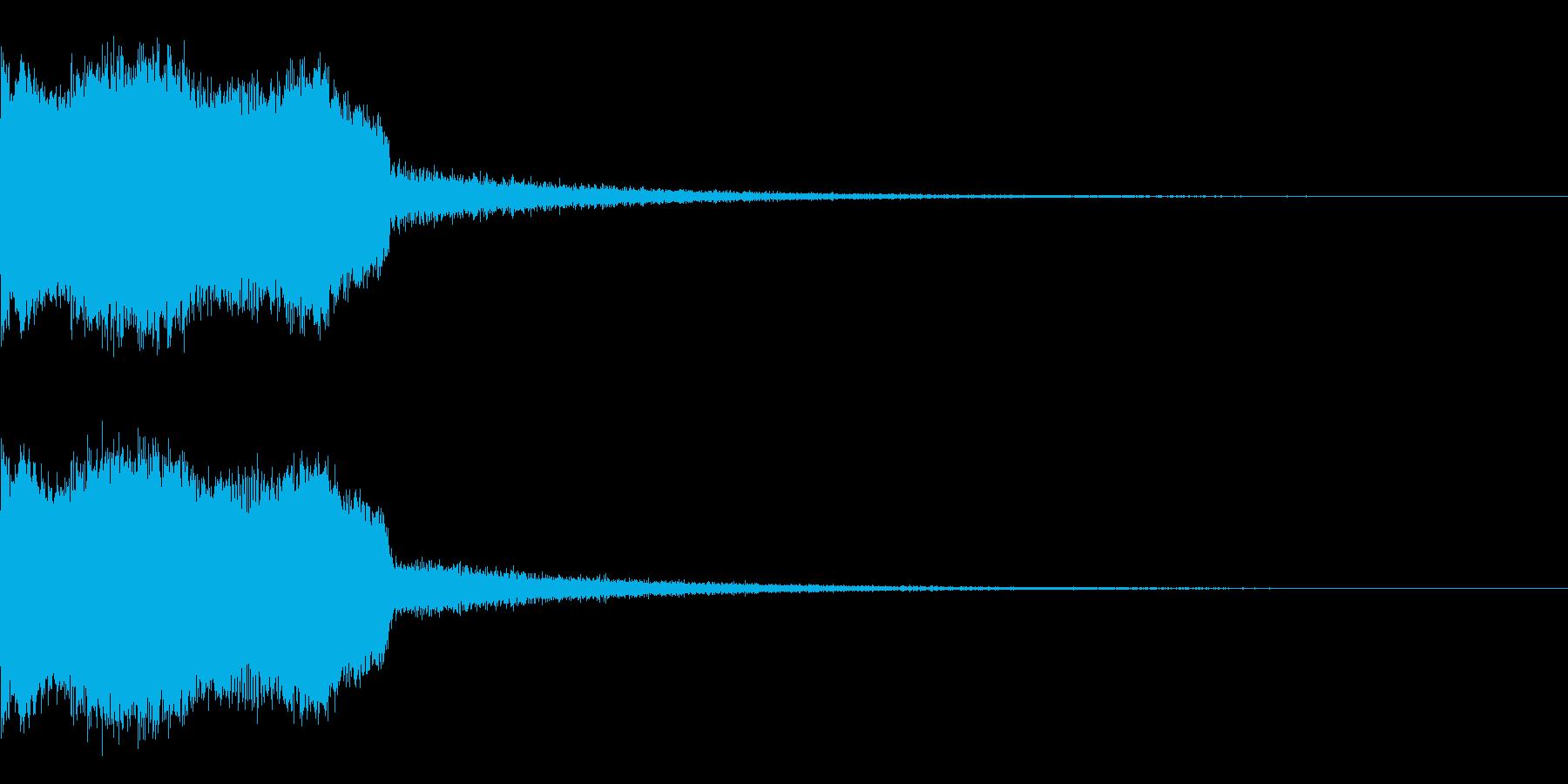 DJFX ヒットチャート発表前SE 25の再生済みの波形