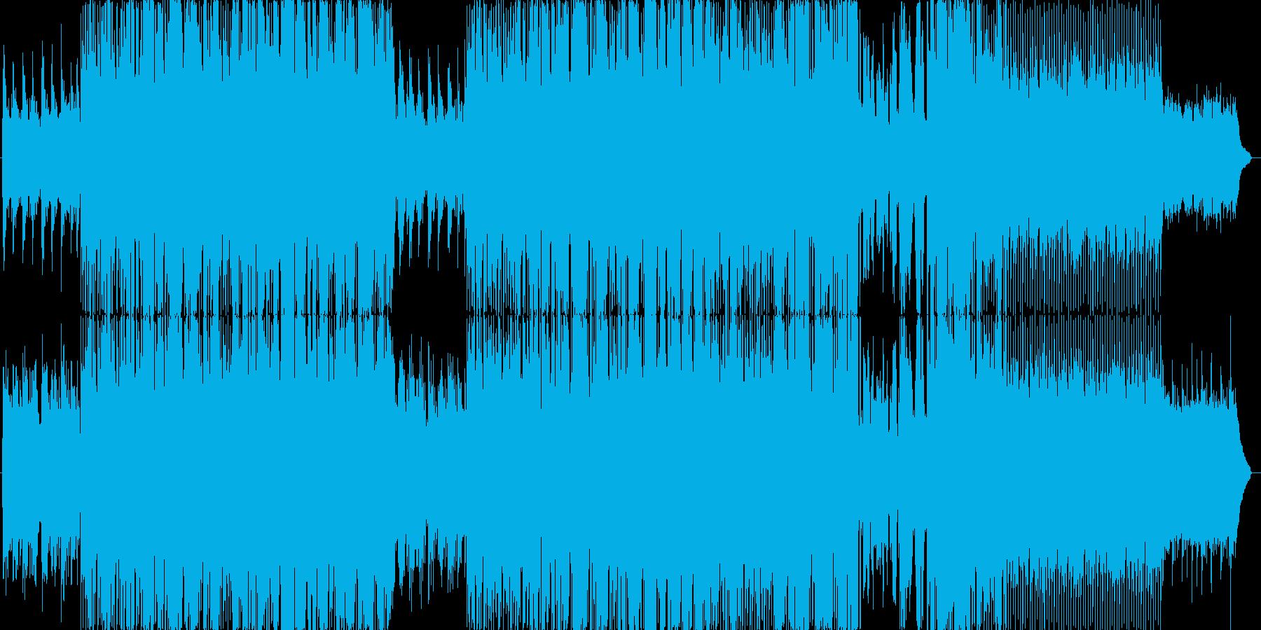 相手のことをひっそりと思う切ない曲の再生済みの波形