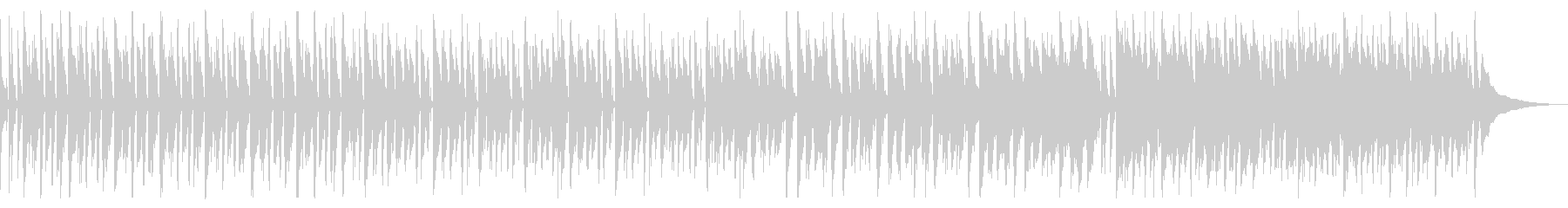 ノリノリなディスコ_2の未再生の波形