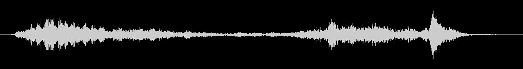 【生録音】ガラガラガラーガシャン(遠め)の未再生の波形