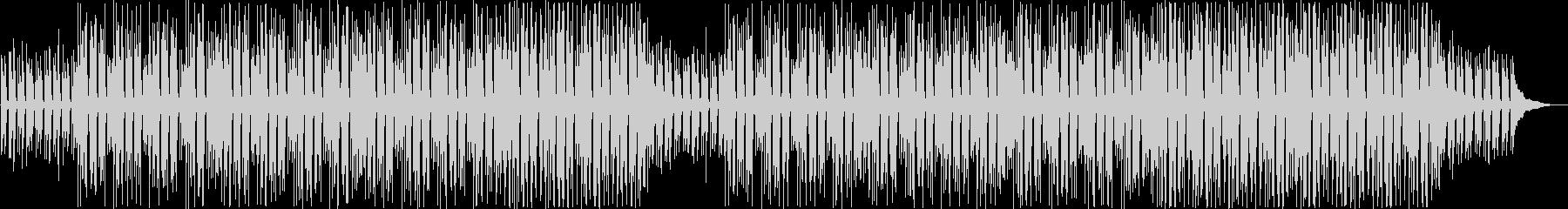 ほのぼのする日常的なアコースティックの未再生の波形