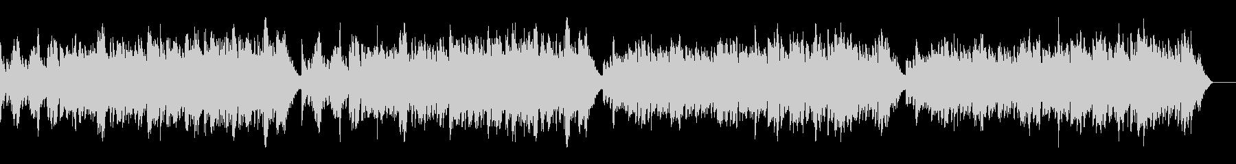 ゴルトベルク変奏曲variation3の未再生の波形