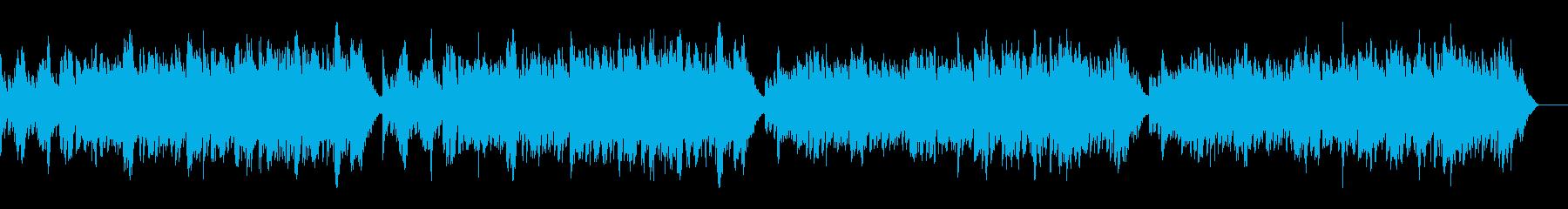 ゴルトベルク変奏曲variation3の再生済みの波形