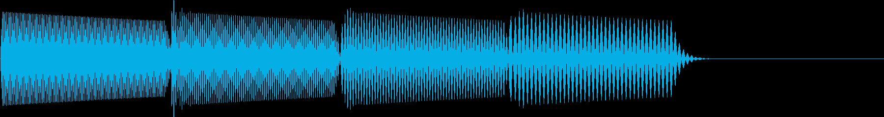 ピロロロ↓(攻撃ミス、やり直し、マシン)の再生済みの波形
