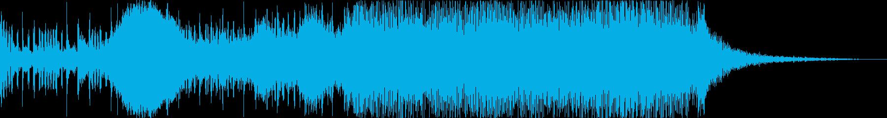 これは、攻撃的で容赦ない吸盤を駆動...の再生済みの波形