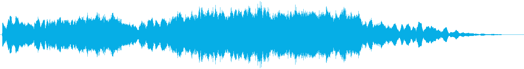 PADS きしむメロディ01の再生済みの波形