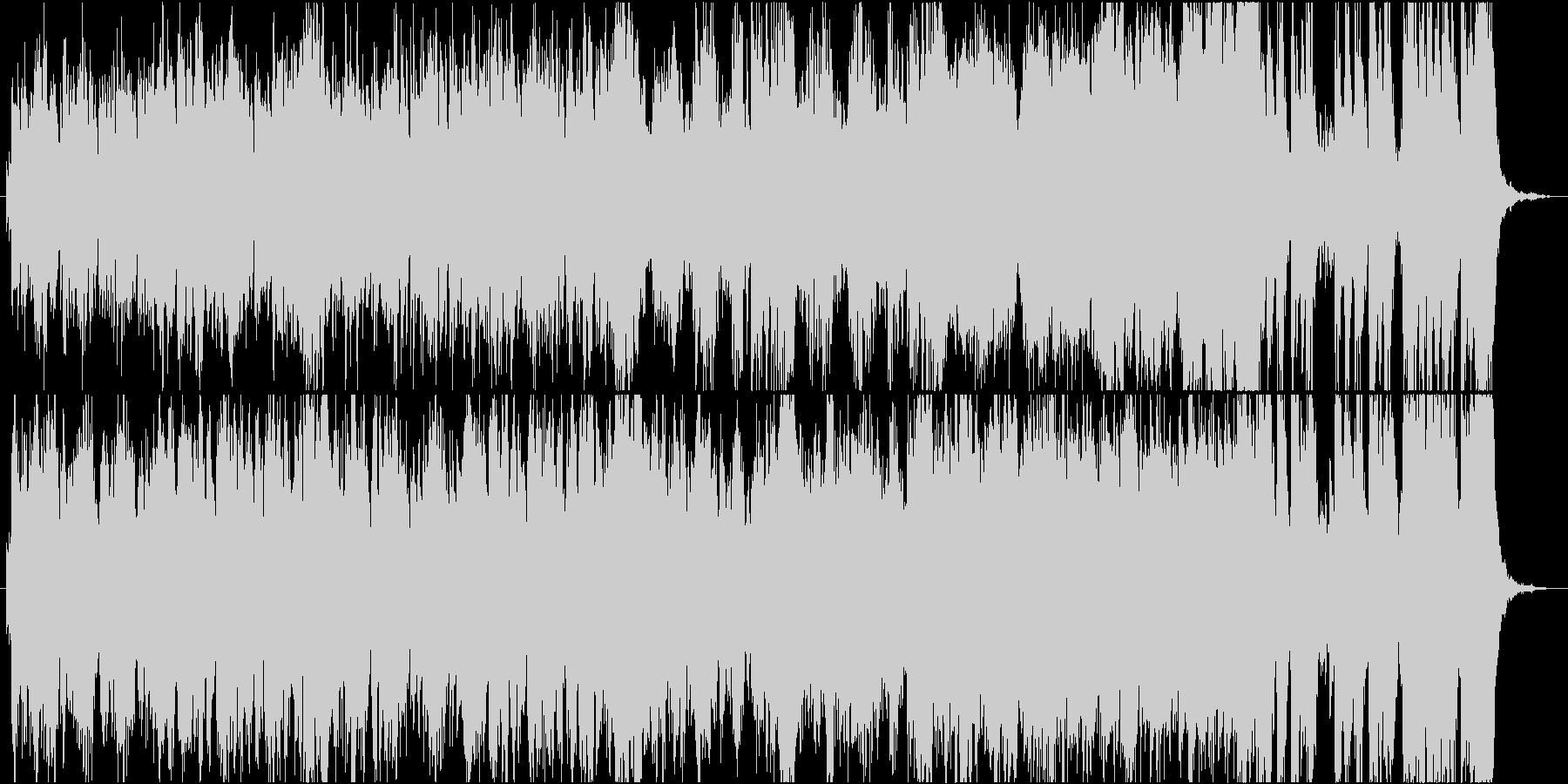 作戦会議、推理シーンなどの緊迫したオケ曲の未再生の波形