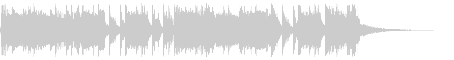 パンキッシュなロックジングル04の未再生の波形