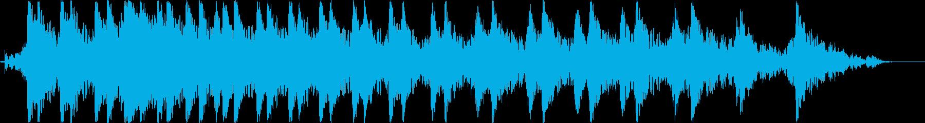 バイク・チェーンソーのエンジン音(B)の再生済みの波形