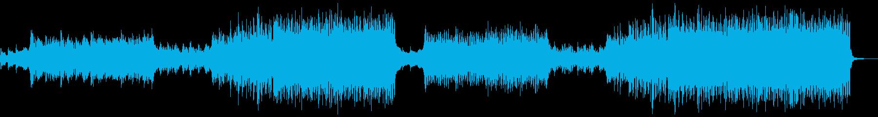 夢 冒険 綺麗な EDMの再生済みの波形