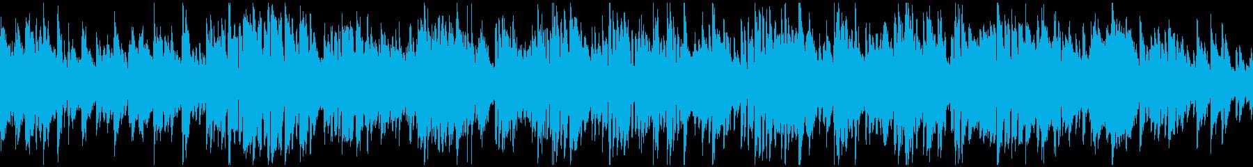 爽やかボサノバ、素敵なサックス※ループ版の再生済みの波形