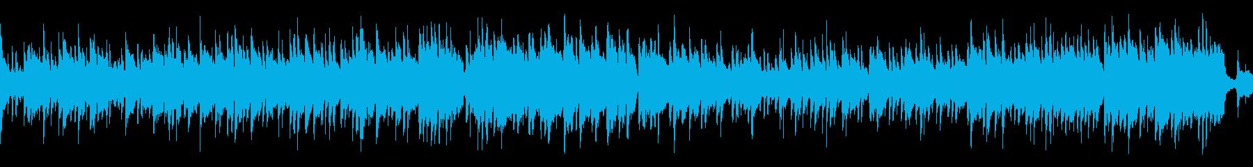 【ループ】哀愁メロディーのボサノバの再生済みの波形