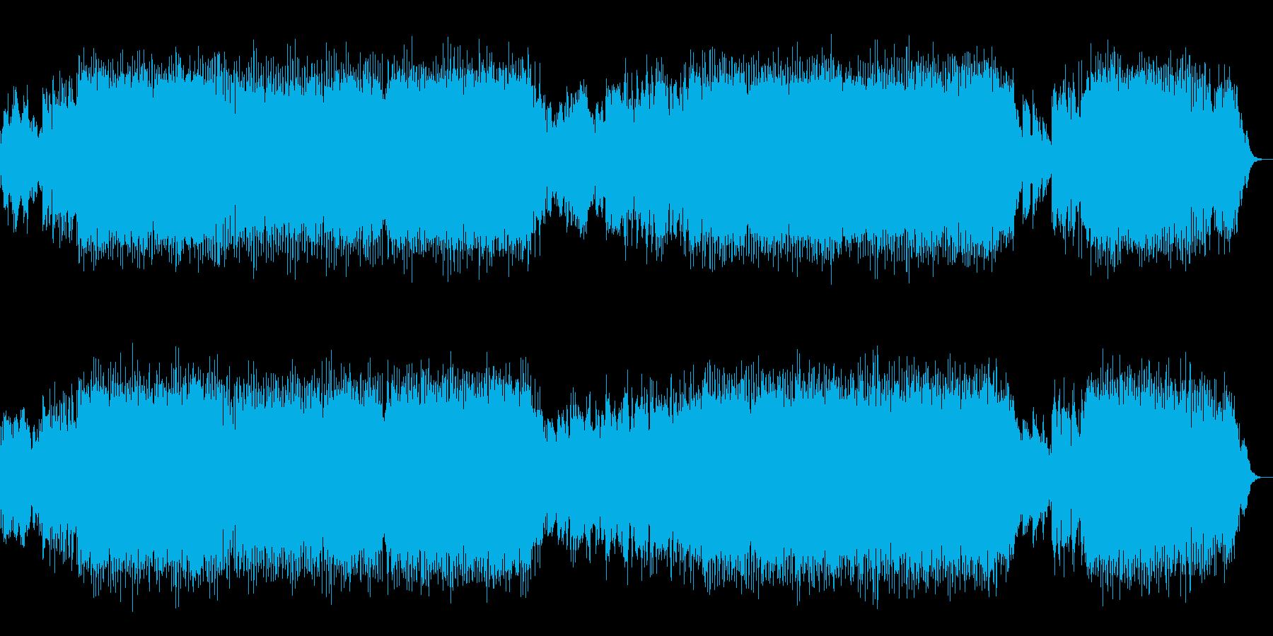 【ギター生演奏】クールで美しい・疾走感の再生済みの波形