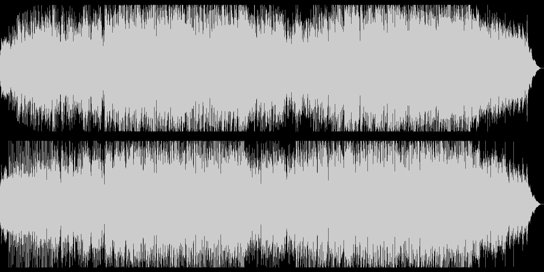 ★レトロなシンセのミディアムポップBGMの未再生の波形