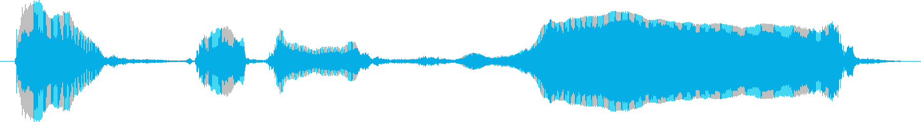 あっさでーすよ~♪の再生済みの波形