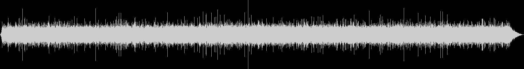 ジュワジュワ 揚げ物を揚げる音の未再生の波形