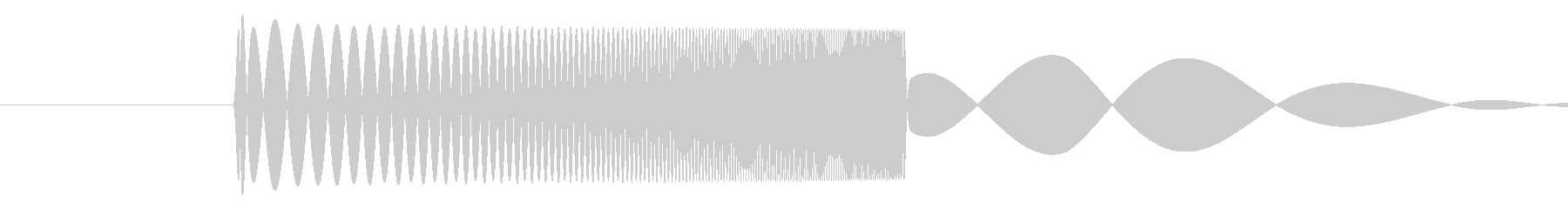 skypeの起動音みたいな音3 ポヨン♡の未再生の波形