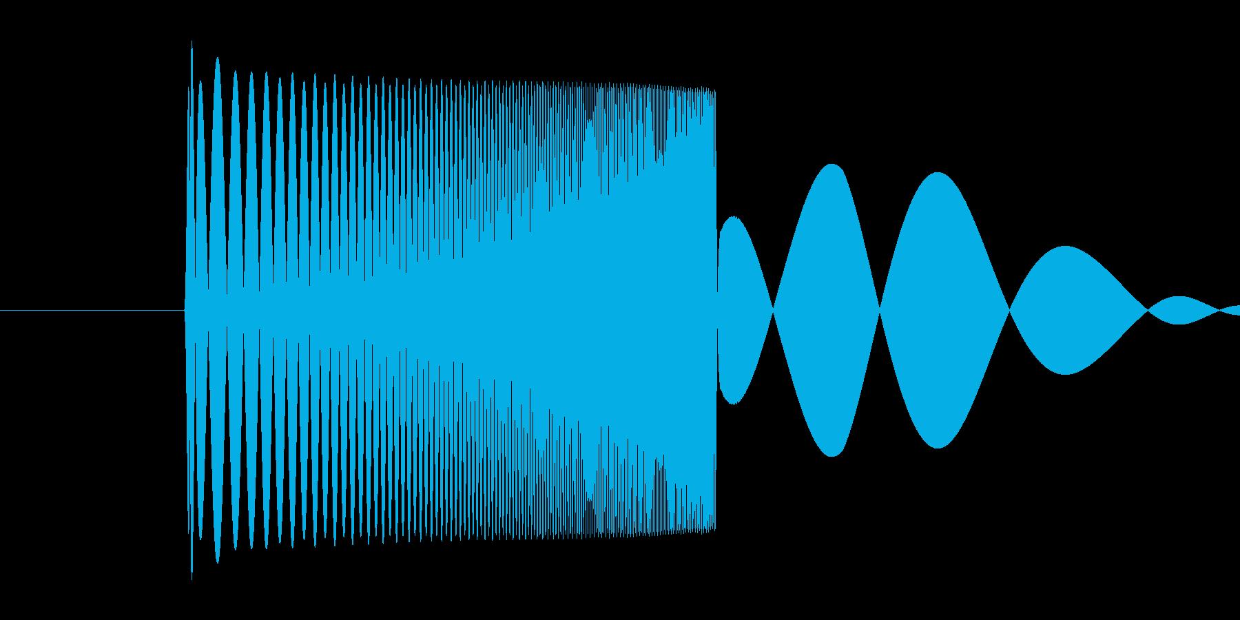 skypeの起動音みたいな音3 ポヨン♡の再生済みの波形