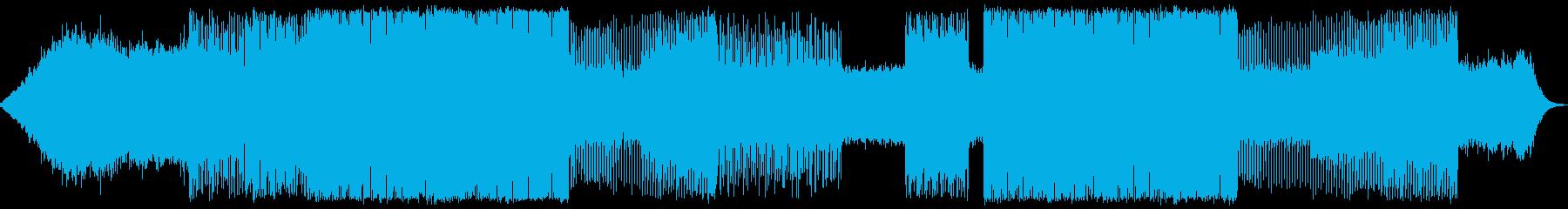 変拍子のさわやかなポストロックの再生済みの波形