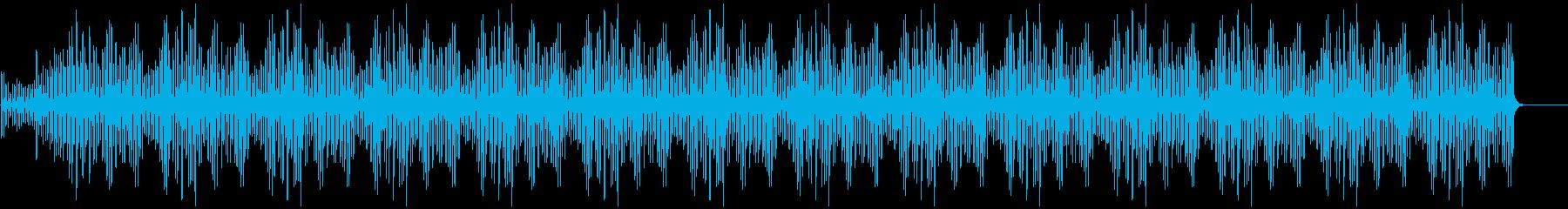 ミニマルなピアノBGM(シンプルver)の再生済みの波形