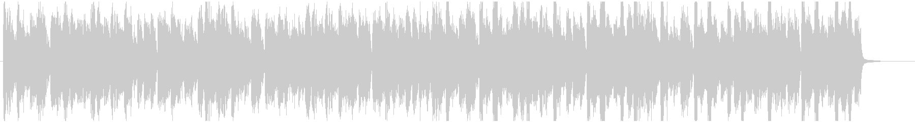 ドラムンベース ジャズファンク調ジングルの未再生の波形