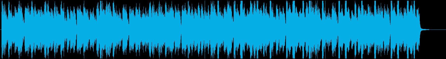 ドラムンベース ジャズファンク調ジングルの再生済みの波形