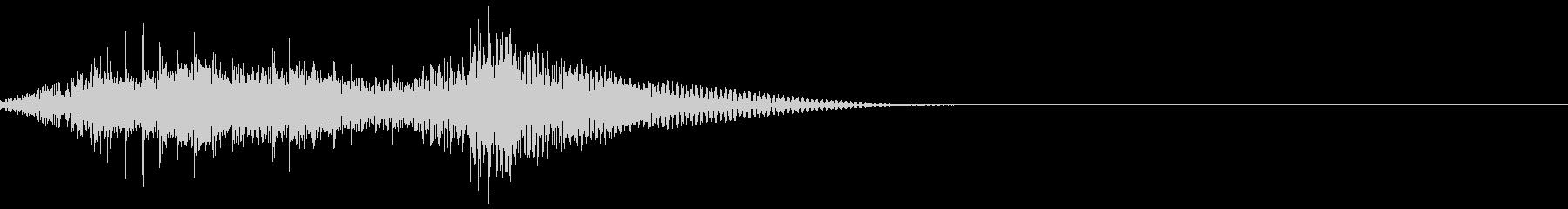 【打楽器・太鼓】コンコンコン・・・ドドンの未再生の波形
