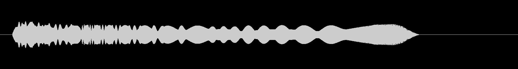 コミカル_投げる_飛翔_落下の未再生の波形
