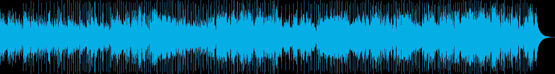 哀愁を感じさせるほのぼのバラード・ロックの再生済みの波形