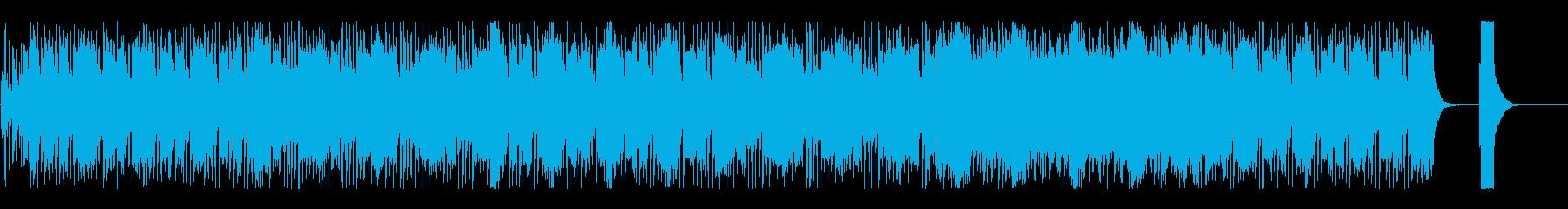 オーディオドラマ向けBGM/日常3の再生済みの波形