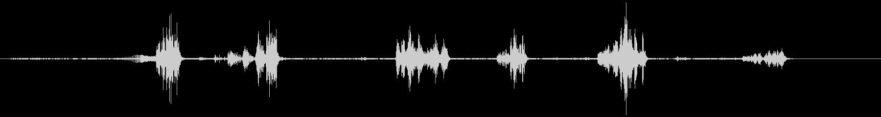 イルカ-屋内プール4の未再生の波形