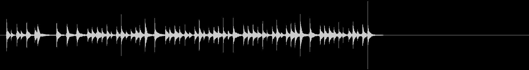 三味線45娘道成寺24日本式レビューショの未再生の波形