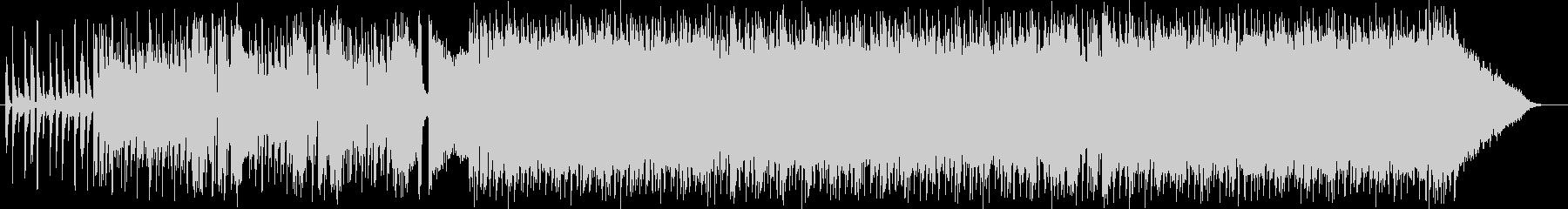 ワイルドでクールなエレキロックサウンドの未再生の波形