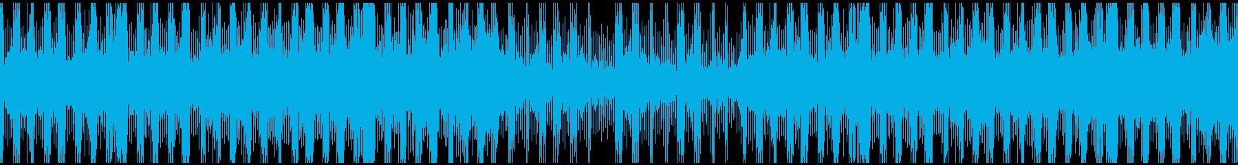 疑惑(疑い)捜索のシリアス(Loop版)の再生済みの波形
