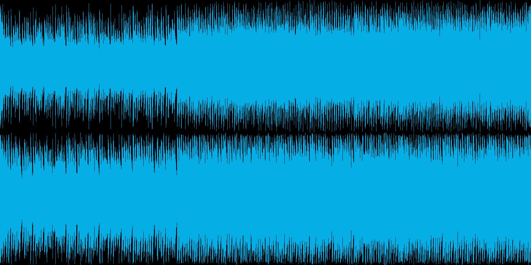 EDM【生演奏、ループ】多幸感、未来の再生済みの波形