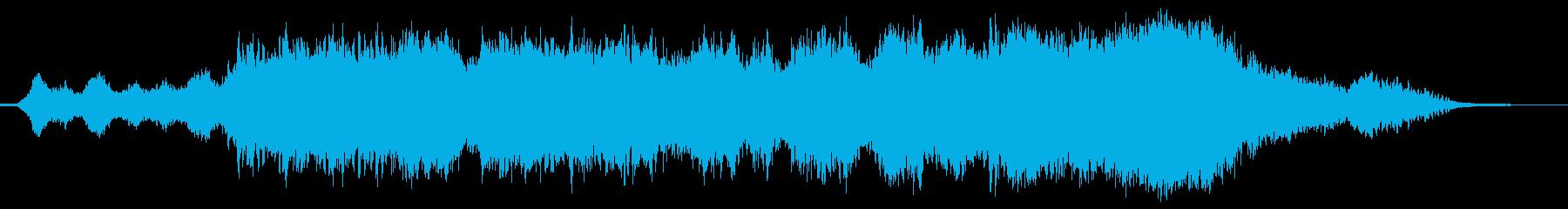 少しミステリアスなアンビエント サスペ…の再生済みの波形