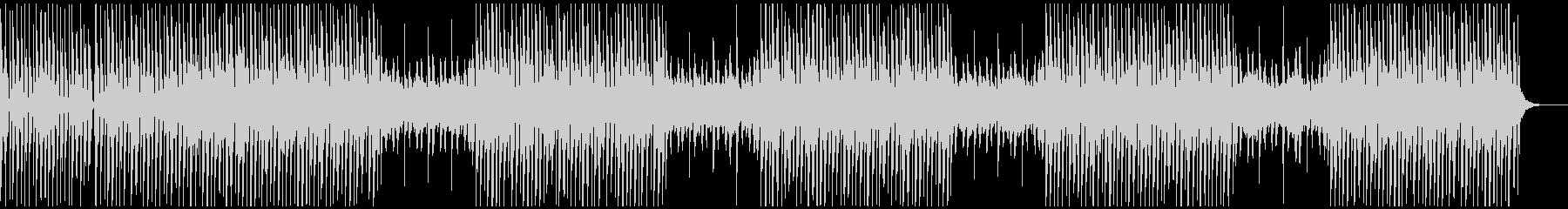 ヒップホップ風 シンセとビート オトナの未再生の波形