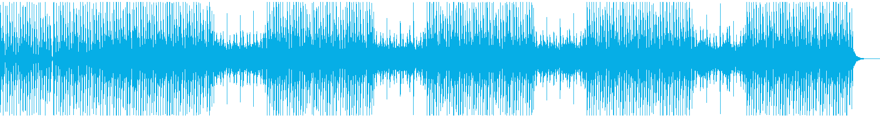 ヒップホップ風 シンセとビート オトナの再生済みの波形