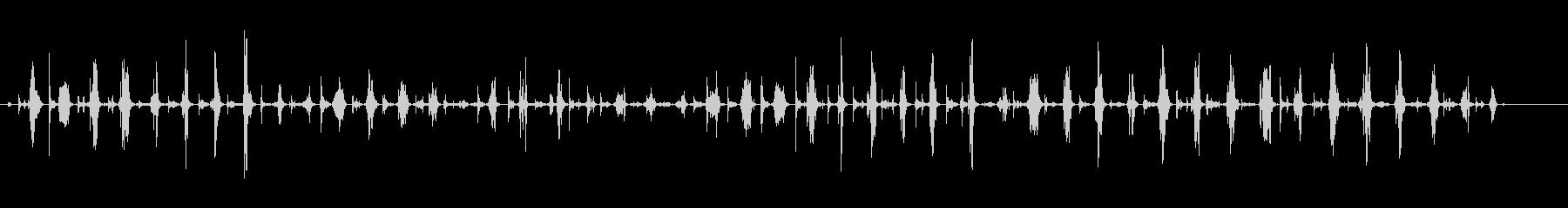 ウッドプランニングサンド-楽器の未再生の波形