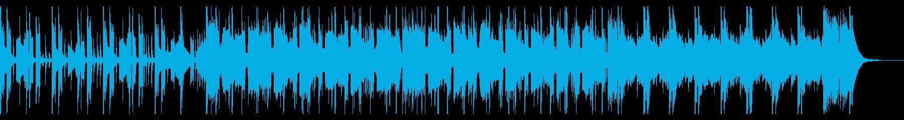 大人のムード漂うロック風ジャズテイストの再生済みの波形