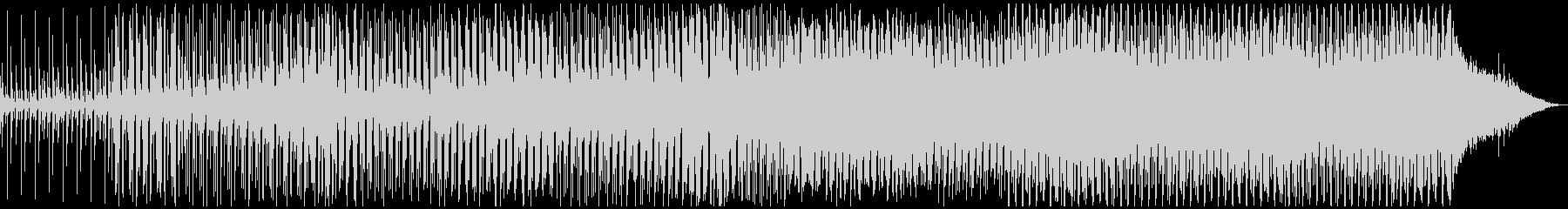 切なイイ感じ♫ EDM Track09の未再生の波形