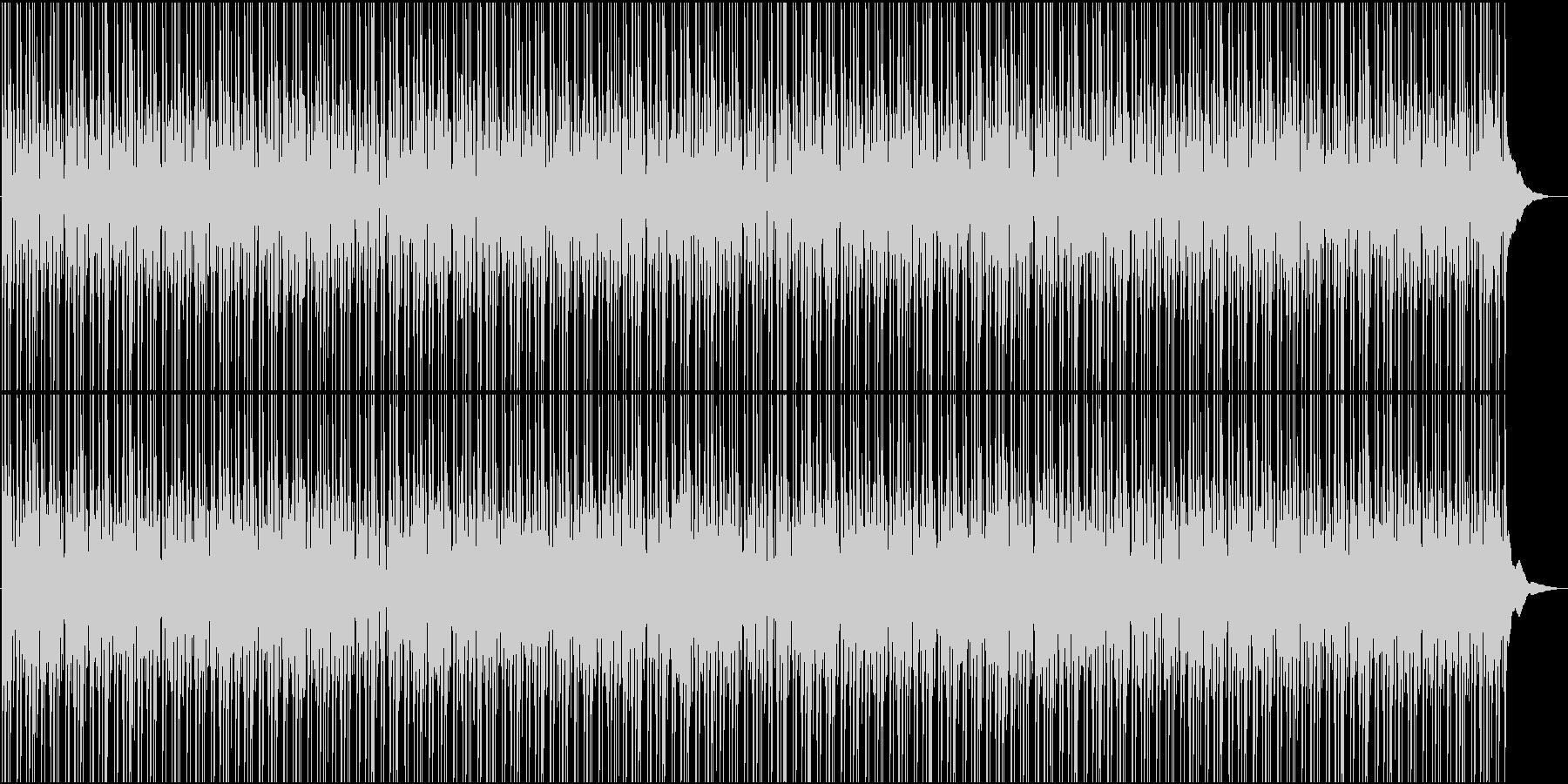 秋・おしゃれで軽快なチルローファイの未再生の波形