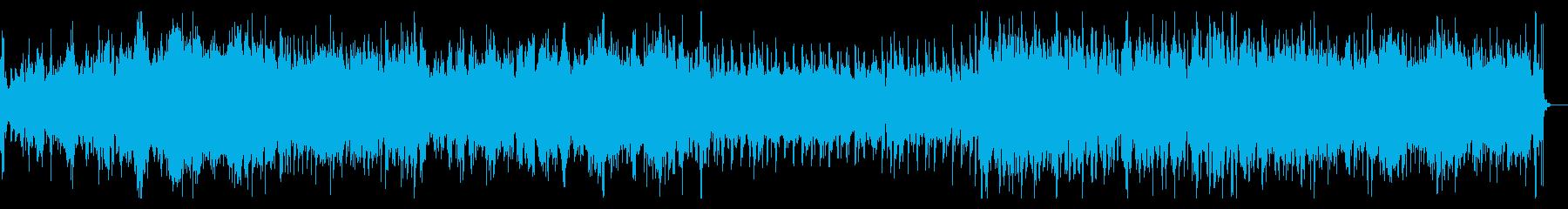 調性希薄でデジノイズなIDMビートの再生済みの波形
